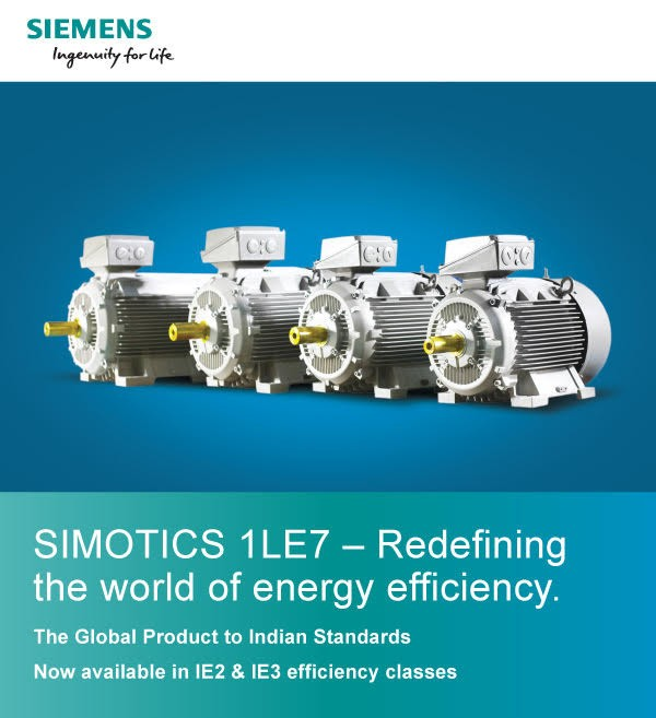 SIMOTICS 1LE7 - Redefining the world of energy efficiency